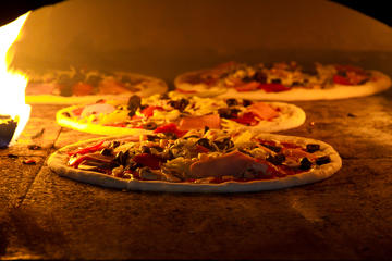 Pizza, Gelato, Chocolate Cake and Sorbetto Cooking Course with Dinner