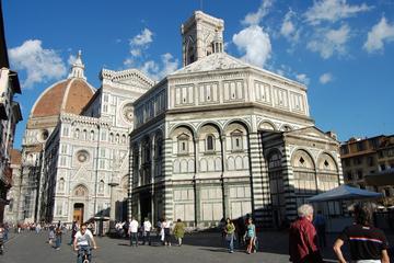 Sightseeingtur i Firenze med gå-forbi-køen-billett til galleriene...