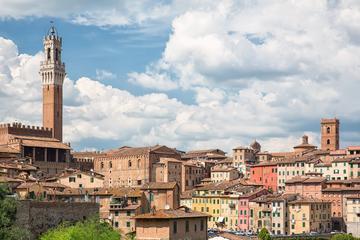 Teilgeführte Tour nach Siena, San Gimignano und Pisa, mit dem Bus ab...