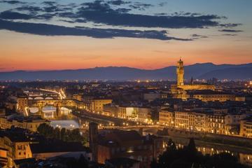 Tour al tramonto di Palazzo Vecchio e della Torre di Arnolfo con cena