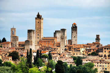 Viagem diurna para Siena, San Gimignano e Greve em Chianti saindo de...