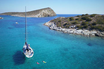 Athens Half Day Sailing Trip with Lunch and Activities