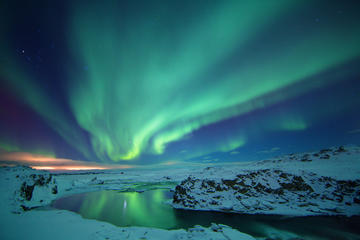 Excursion à la découverte des aurores boréales au départ de Reykjavik