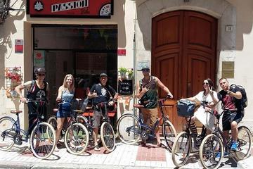 Recorrido en bicicleta por las tapas y el vino de Málaga