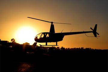 Romantischer Hubschrauberflug über...