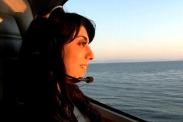 Sogno in aereo per turisti a Los