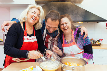 Private Greek Cooking Class with Organic Products - With Locals