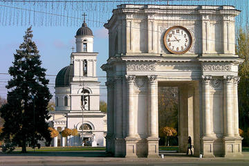 Chisinau City Tour and Cricova Winery with wine tasting