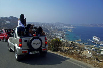 4 x 4 Adventure on Mykonos