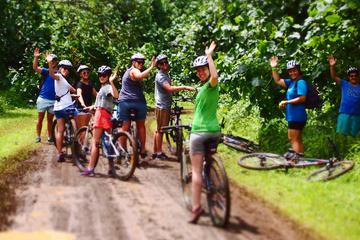 Easy Rarotonga Cycling Tour with Lunch
