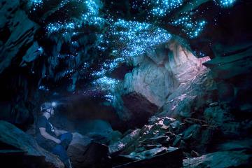 Glowworm Caving Adventure Tour in...