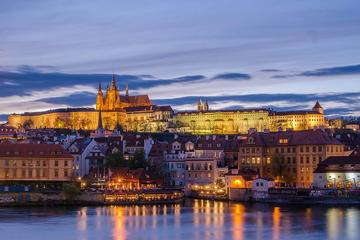 Full-Day Small Group Walking Tour and Boat Ride in Prague