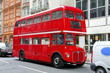 Buckingham Palace og Vintage-bustur i London