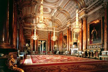 el Palacio de Buckingham y el Castillo de Windsor desde Londres