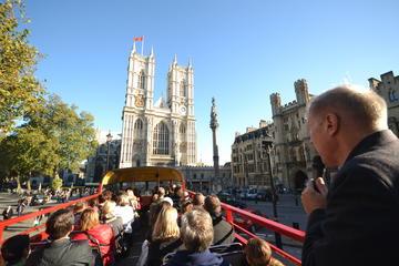 Excursão de ônibus vintage por Londres, incluindo a Abadia de...
