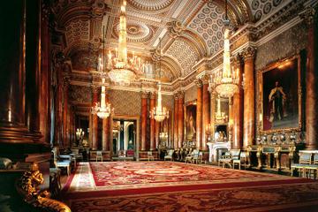 Palácio de Buckingham e viagem de um dia ao Castelo de Windsor saindo...