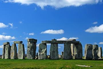Stonehenge, Salisbury Cathedral and...