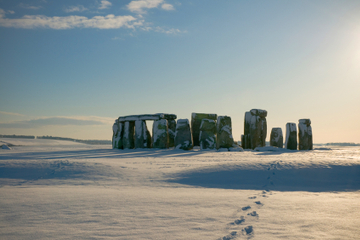 Tur 1. juledag: Windsor, Stonehenge, Bath og Lacock
