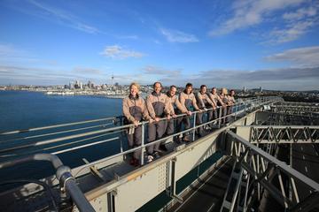 Klimmen op de Auckland Harbour Bridge