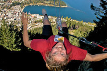The Ledge - Sky Swing (Salto com balanço) em Queenstown