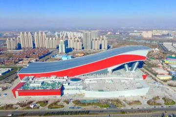 Private Day to Harbin Indoor Snow Skiing  and Ice and Snow world