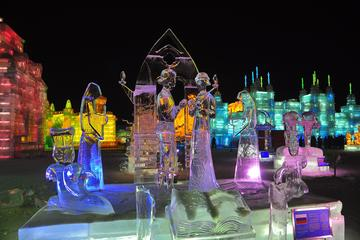 Shared Transfer Service to Ice and Snow World, Sun Island Snow Festival, Tiger Park