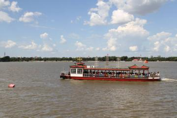 Songhua River Boat Tour and Russian Dining Experience in Harbin
