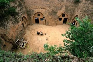 All inclusive cave Dwelling Zhang 's family village and folk custom yuanjia village