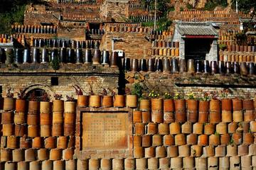 All inclusive Chen lu old porcelain town and pottery making and yao zhao pottery museum