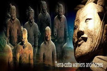 Private Classic Xian Day Tour including Terracotta Warriors, Cave...