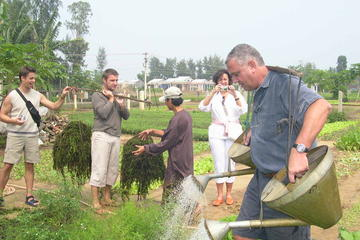 Full-Day Hoi An Countryside Bike Tour Including Thanh Nam and Tra Que...