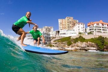 Aulas de surfe na Bondi Beach de Sydney