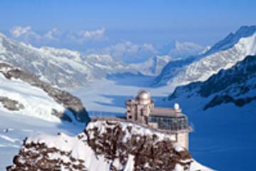 Dagsresa till Jungfraujoch, högst upp ...