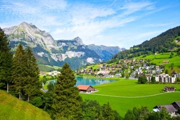 Engelberg - a Grande aldeia de Montanha