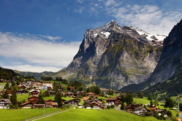 Interlaken Grindelwald en los Alpes...