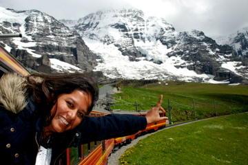 Jungfraujoch: Toppen av...
