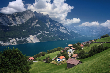 Tour di Heidiland e Liechtenstein con partenza da Zurigo: due paesi