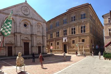 Tour privato di mezza giornata a Pienza e Montepulciano da Siena