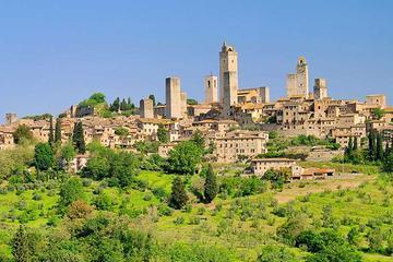 Tour privato di un giorno a San Gimignano e Volterra da Siena