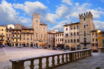 Tour privato di un giorno di Arezzo e Cortona da Siena