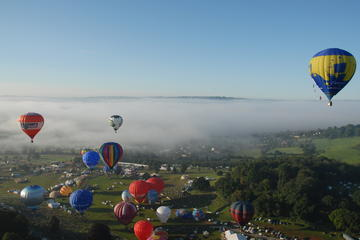 Hot Air Balloon Flight at Bristol Balloon Fiesta