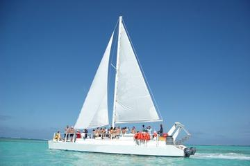 Croisière happy hour en voilier avec plongée au tuba à Punta Cana