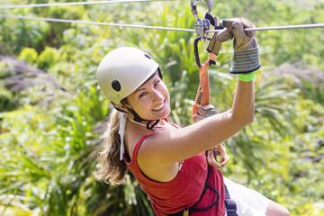 Zipline Tour in Rancho Cumayasa from La Romana