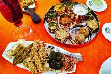 Authentic Rajasthani Food In Traditional Place - Thikana Restro In Jaipur