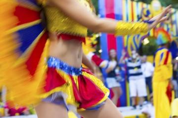 École Rio Samba: répétition de carnaval dans les coulisses