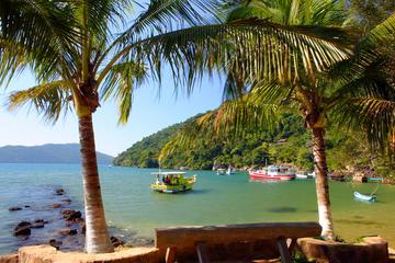 Excursión a playa solitaria y paseo por la selva tropical en Paraty