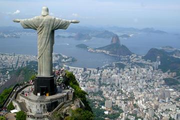 Halve dag naar de berg Corcovado en het standbeeld van Christus de ...