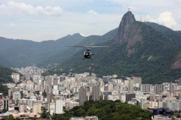 Hubschrauberrundflug über Rio de Janeiro