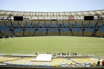 Maracana Stadion Tour: hinter die...