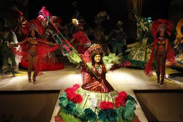 Spettacolo di samba al Plataforma di Rio de Janeiro